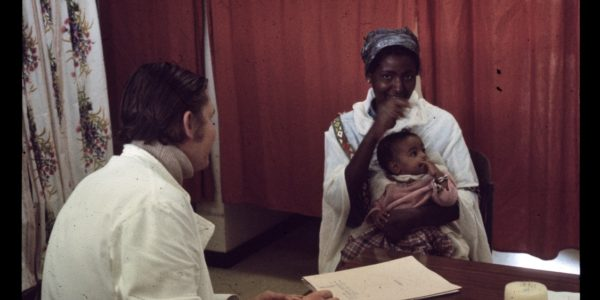 Then (1979-1986): A patient consults Ben during his time in Zimbabwe