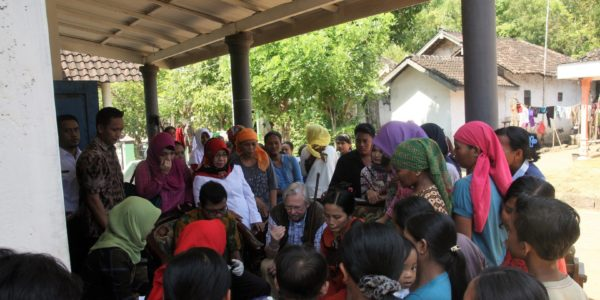 Now: Ben teaches medical personnel in a rural clinic in East Indonesia